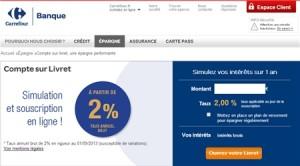 Livret Carrefour Banque
