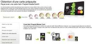 Carte Bancaire Neteller.Net Profiter D Une Carte Prepayee Securisee Neteller