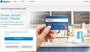 Carte Bancaire Prepayee Et Paypal.Mastercard Paypal Carte Prepayee Sans Compte Bancaire